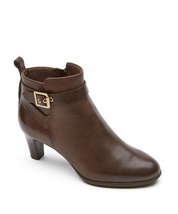 Rockport | Melora Leather Ankle Boots
