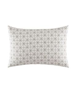 Vera Wang | Mirrored Square Geometric Stitched Sham