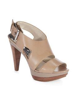 Michael Michael Kors | Carla Leather Platform Sandals