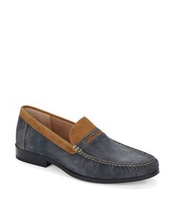 Donald J. Pliner | Norin Suede Penny Loafers