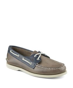 Sperry   Authentic Original Leather 2-Eye Sarape Boat Shoes