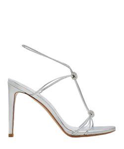 Stuart Weitzman | 90mm Trixie Swarovski Leather Sandals