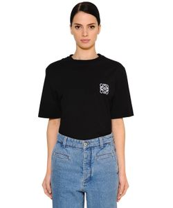 Loewe   Oversized Cotton Jersey T-Shirt W Logo