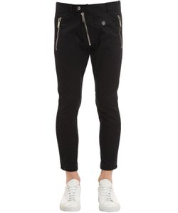 Dsquared2 | 15.5cm Sexy Biker Cotton Twill Pants