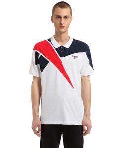 REEBOK CLASSICS | Retro Cotton Piqué Polo Shirt