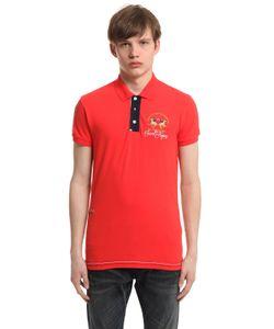 LA MARTINA   Saint Tropez Arnold Cotton Polo Shirt
