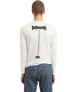 VETEMENTS | Hanes Staff Jersey Long Sleeve T-Shirt