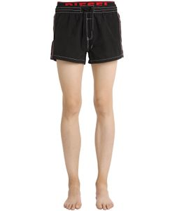 Diesel | Logo Waistband Nylon Bathing Shorts