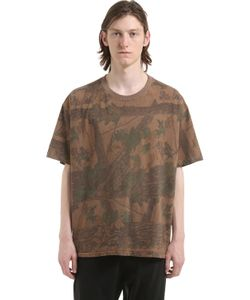 Yeezy   Forest Printed Cotton Jersey T-Shirt