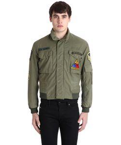 AS65 | Vintage Military Gabardine Bomber Jacket