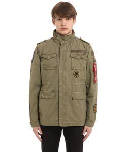 Alpha Industries | Huntington Patch Twill Field Jacket
