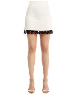 David Koma | Cady Macramé Lace Mini Skirt
