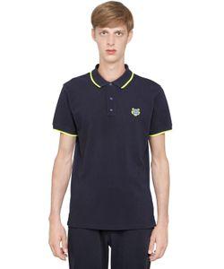 Kenzo   Tiger Cotton Piqué Polo Shirt