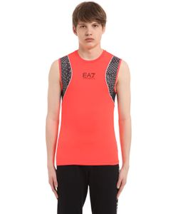 EA7 | Nylon Mesh Running Tank Top
