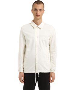 ADIDAS BY WINGS & HORNS | Originals Mon Cotton Linen Coach Jacket