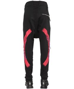 11 By Boris Bidjan Saberi | Embroidered Printed Jersey Sweatpants