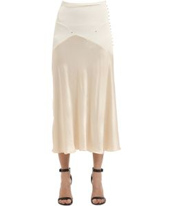 Esteban Cortazar | Thick Jersey Satin Skirt