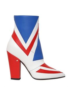 Laurence Dacade | 100mm David Bowie Leather Ankle Boots