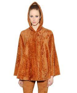 Drome | Reversible Hooded Fur Jacket