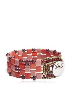Ziio | Pixel Red Beaded Bracelet