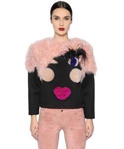 Blancha | Doll Shearling Jersey Sweatshirt
