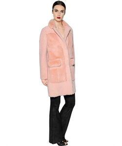 Blancha   Mink Fur Shearling Coat