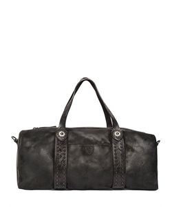 Htc Hollywood Trading Company | Marquis Waxed Leather Duffle Bag