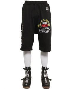 KTZ   Casino Printed Cotton Jogging Shorts