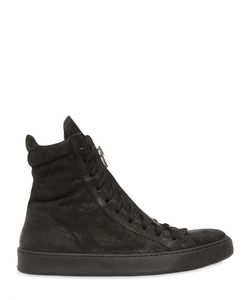 The Last Conspiracy | Leather High Top Sneakers W/ Zip