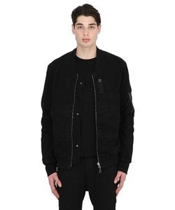 11 By Boris Bidjan Saberi | Reversible Cotton Canvas Bomber Jacket