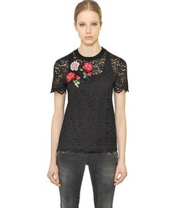 Blugirl | Embroidered Cotton Lace Top