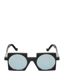 Vava | Square Framed Mirrored Sunglasses