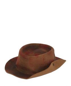 Barbisio | Rubberized Wool Felt Pressed Hat