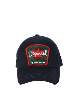 Dsquared2   Canada Patch Canvas Baseball Hat