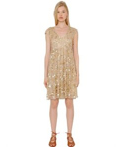 Blugirl | Sequined Tulle Dress