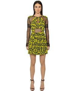 Caterina Gatta | Daisy Printed Georgette Tulle Dress