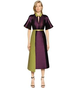 Caterina Gatta | Mikado Double Silk Blend Dress