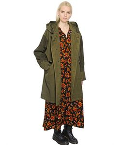 Y's | Hooded Oxford Military Parka