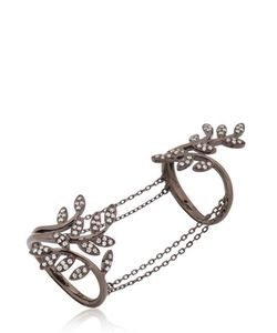 Joëlle Jewellery | Leaf Ring With Chains