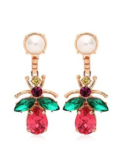 Mawi | Love Bug Crystal Earrings