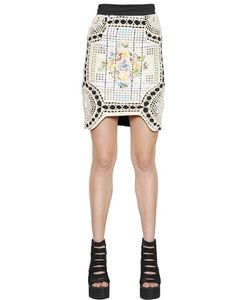 Natargeorgiou | Cotton Crochet Neoprene Skirt