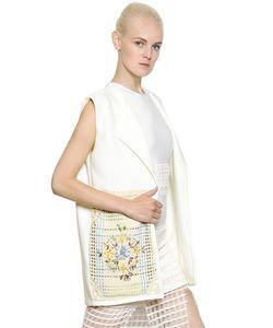 Natargeorgiou | Cotton Crochet Neoprene Vest