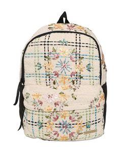 Natargeorgiou | Embroidered Neoprene Cotton Backpack