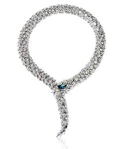 Simon Harrison | Crystal Snake Necklace