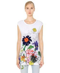 Stella McCartney | Sleeveless Printed Cotton Jersey T-Shirt