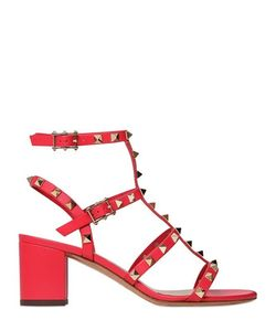Valentino | 60mm Rockstud Leather Sandals