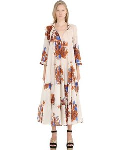 Yvonne S | Floral Cotton Voile Dress
