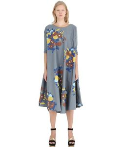 Yvonne S | Floral Cotton Poplin Dress