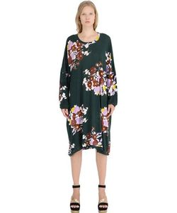 Yvonne S | Floral Cotton Jersey Dress