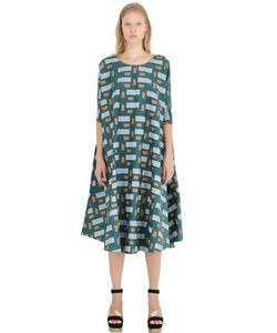 Yvonne S | Geometric Cotton Poplin Dress